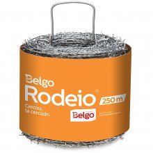 Arame Farpado 1,60mm 250m Belgo Rodeio