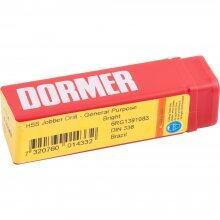 Broca Aço Rápido - Hss - 4,0mm A114 Dormer - 10 Peças