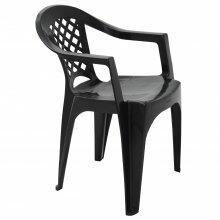 Cadeira Iguape em Polipropileno Preto Tramontina