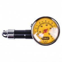 Calibrador De Pressão De Pneus Tipo Relógio 10 a 100PSI 79-052 Stanley