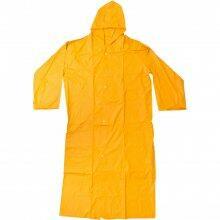 Capa de Chuva Laminada Amarela Plasticor