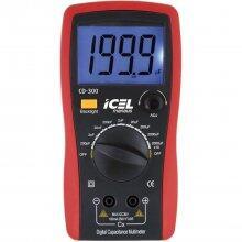 Capacímetro 2000 a 20.000 Uf Cd300 Icel