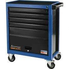 Carro Ferramentas 5 gavetas e 1 Porta Azul Tramontina