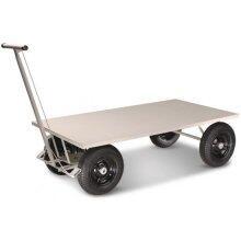 Carro Plataforma Com Tampo Em Chapa De Aço CMB 351 - Capacidade 800Kg