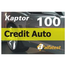 CARTAO CREDIT AUTO 100 ALFATEST