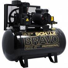 Compressor De Ar 10 Pés 100L Bravo Schulz - 110/220V Monofásica