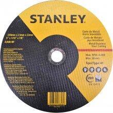 """Disco Abrasivo Corte de Inox 9"""" X 2,5MmX 7/8''STA8069 Stanley"""