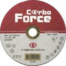 DISCO CORTE AÇO CARBORUNDUM 180X3,0X22,23 CARBO