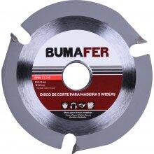 Disco Corte para Madeira  3 Wideas 115MM X 22,23MM Bumafer