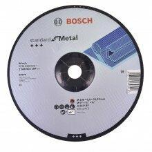 "Disco Curvo de Desbaste 9"" Standard For Metal Bosch"