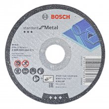 "Disco De Corte 4.1/2"" X 7/8"" G30 Standard For Metal da Bosch"