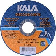DISCO DE CORTE FINO 114,3X1,6X22,23MM KALA