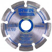 Disco Diamantado 110mm Segmentado IW13892 Irwin - Corte Seco