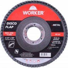 Disco Flap Reto 115mm x 22,23 mm Worker