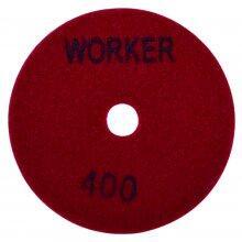 Disco Lixa Diamantado 100mm Grão 400 Worker