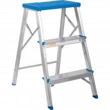 Escada Banqueta Aluminio 3degraus Alumas Alumasa