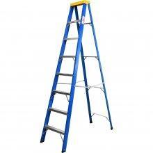 Escada de Fibra 8 Degraus 2,10m Worker