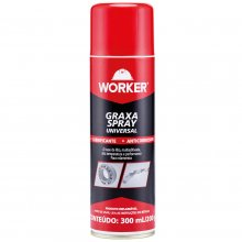 Graxa Litio Spray Universal 300ml/200g 47627 Worker