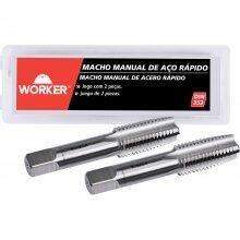 Jogo Macho Manual Din352 M14x2mm 2 Peças Worker