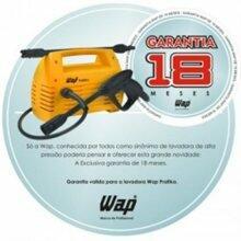 LAVADORA DE ALTA PRESSÃO WAP MINI PRATIKA 1450 LIBRAS 220 Volts