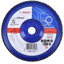 Disco Flap 180x22mm G40 Professional For Metal Bosch