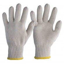 Luva Tricotada Branca 4 Fios Tamanho 9 (G) Worker