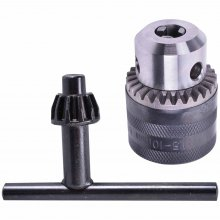 "Mandril 1,5 a 10 MM 3/8"" x 24F UNF Com Chave Bosch"