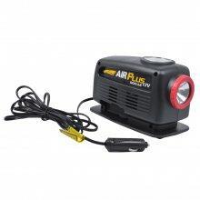 Mini Compressor de Ar Com Lanterna 10 Amp 12V Air Plus Schulz