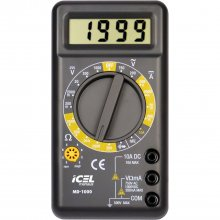 Multimetro Digital MD-1000 Icel - 10 Amperes