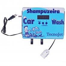Painel Central de Shampoozeira p/ lavagem veicular Tecnojet