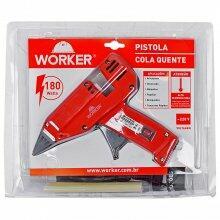 Pistola Cola Quente 180w 220v Worker