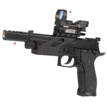 Pistola de Pressão Em Metal Com CO2 Sig Sauer X-Five 6 Mm Airsoft Cyberx
