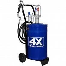 Propulsora/Engraxadeira Pneumática 30kg Reservatório Com Carrinho JHF4X 8454 Hidromar