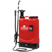 Pulverizador Costal Manual e a Bateria 16L Worker