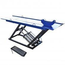 Rampa Pneumática Para Moto 350 kg Azul MR350M Mr Ribeiro