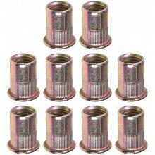 Rebite De Rosca Em Aço Carbono 12mm ACM12 Vonder - 10 Peças
