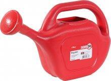 Regador plástico vermelho, 5 litros, NOVE54