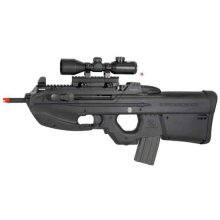Rifle Elétrico Em Abs FN 2000 Tactical 6 Mm Airsoft Cyberx