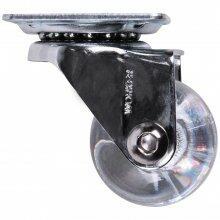 Rodízio de Gel 35mm Giratório Cristal Worker