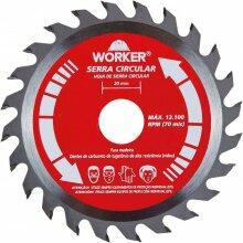Disco de Serra Widea 5.1/2'' 24 Dentes 20mm Worker