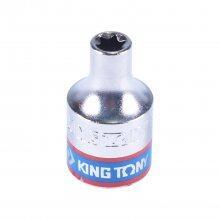 Soquete Hexalobular E-6 Fêmea Encaixe 3/8 337506M King Tony