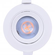 Spot Led Mr11 Embutir Redonda 3w Branco Liege