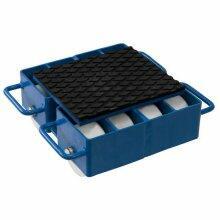Tartarugas Traseira Para Movimentação De Cargas Roda Nylon 12TON T12000 Bovenau