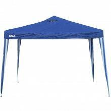 Tenda Gazebo Azul em Poliéster 3X3M Dobrável 103888 Kala