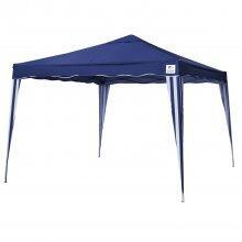 Tenda Gazebo Azul Em Poliéster 3X3M Dobrável 330300 Belfix