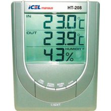Termo-Higrômetro HT-208 Icel