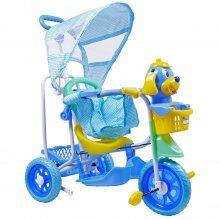 Triciclo 3 em 1 Com Capota Azul 910600 Belfix