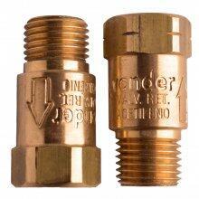 Válvula de Retenção Para Oxigênio e Acetileno VRT 632 Vonder