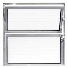 Vitro Basculante Alumínio 40x40 Aluvid
