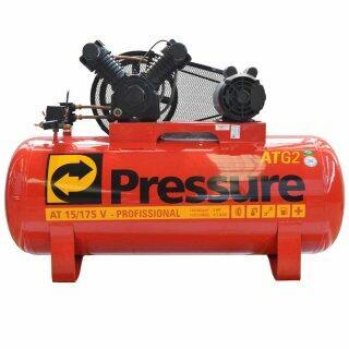 Compressor De Ar 15 Pés 175L ATG2 15/175V Pressure  - 110/220V